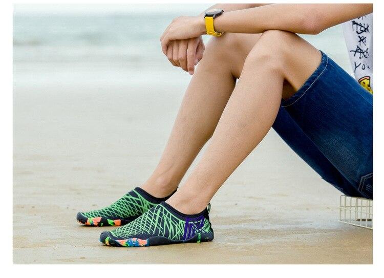 homens tênis de mergulho descalço do aqua sapatos chinelos para o mar