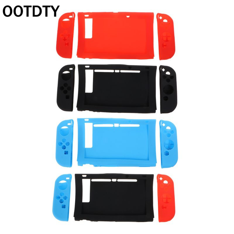 Silicone Protective Cover Left Right Dustproof Shockproof Game Accessories for Nintendo Switch NES Joy-Con Console Controller