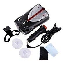 12V 16 Группа Cobra XRS 9880 Лазерная Анти радар автомобилей детектор 360 градусов Светодиодные Дисплей полиции Спидометр голосовое оповещение отображаются индикаторы хронографа, будильника или лазера