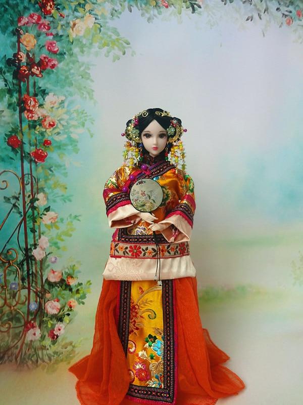 Costume doll,DIY Doll 30 cm ,including clothes Original doll 201806