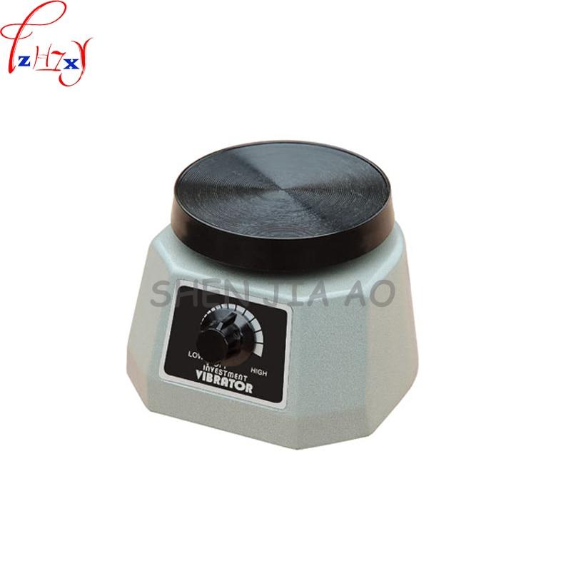Dental Gypsum Oscillator JT-14 Disc Gypsum Oscillator Gypsum Vibrator Gray Small Circular 110/220V 1PC 1pc dental lab technician materials plaster vibrator round plate for gypsum oscillator