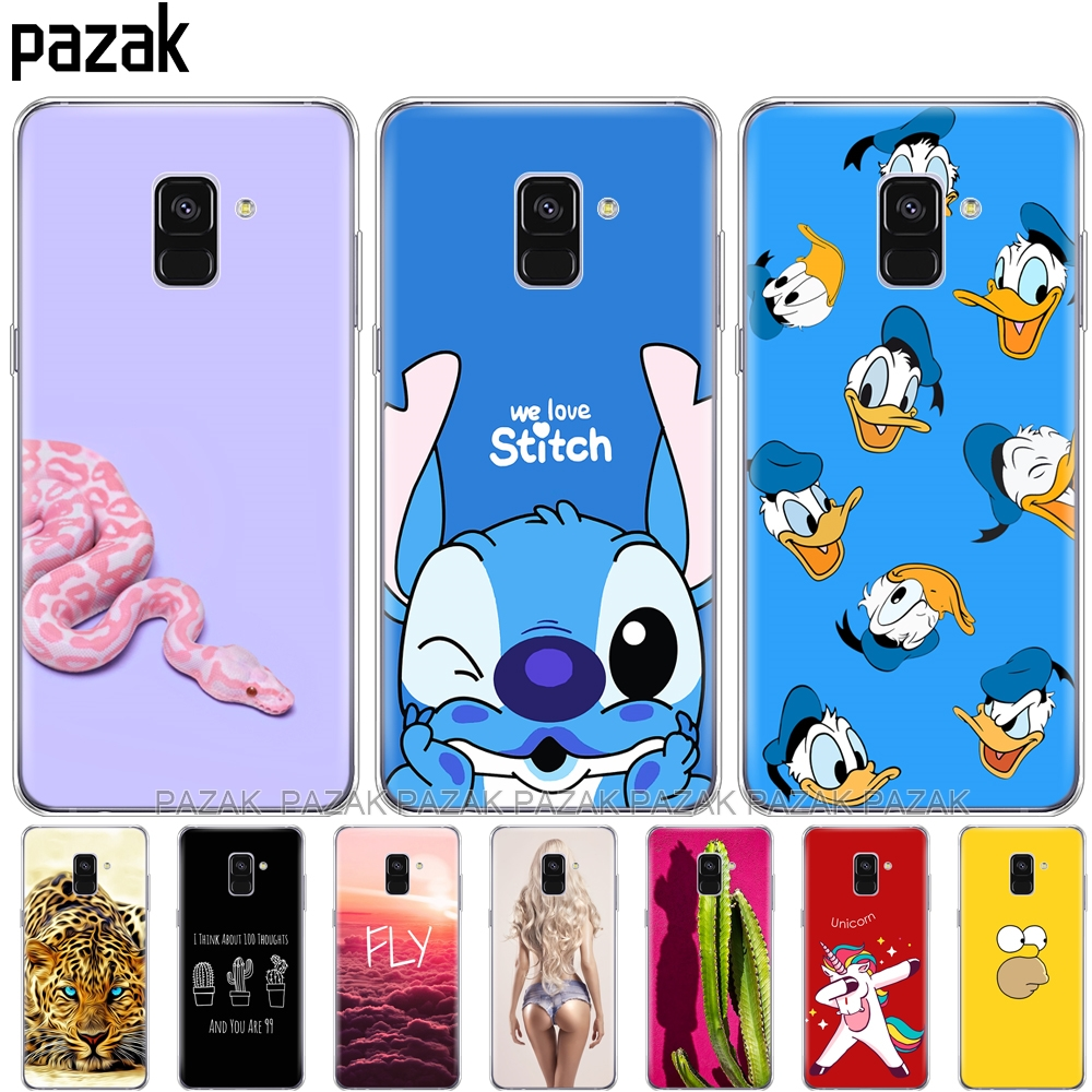 Silicone phone Case For <font><b>Samsung</b></font> Galaxy A8 2018 A530 <font><b>A530F</b></font> <font><b>Cover</b></font> For <font><b>Samsung</b></font> A8 Plus 2018 A730 A730F Clear new phone shell image