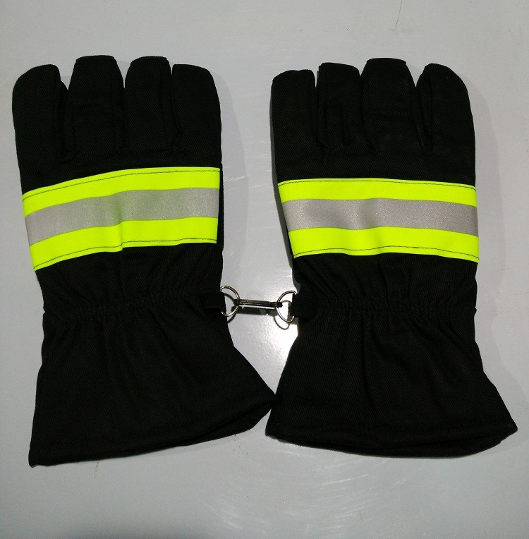 Fire fighting emergency and rescue gloves insulated gloves fire retardant protective gloves aqua нерка fire