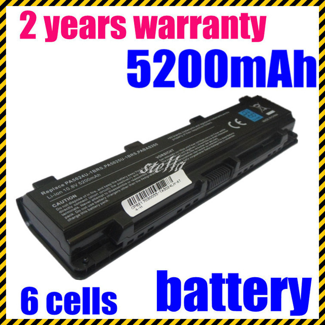 Jigu batería libre del envío para toshiba pa5023u-1brs pa5024u-1brs pa5025u-1brs satellite l800 l850 series