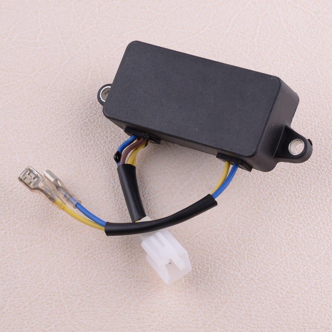 LETAOSK AVR Automatic Voltage Regulator Rectifier For UST Gasoline Generator LIHUA 2KW 2.3KW 2.5KW 2.8KW 3KW 3.5KW 4.2KW 4.5KW