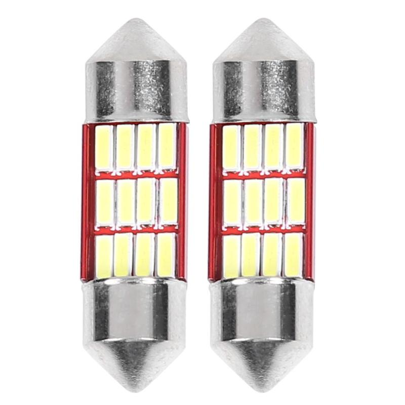 2pcs Festoon 31mm 36mm 39mm 41mm Car <font><b>LED</b></font> Bulbs for Auto Inteiror Map Dome <font><b>Light</b></font> with 12/<font><b>16</b></font>/<font><b>16</b></font>/<font><b>16</b></font>/20 Number of <font><b>Lights</b></font> image