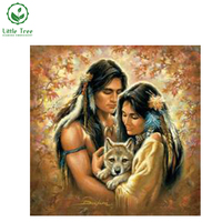 Square Drill Full Whole Mosaic Rhinestone Craft New Arrive Unfinish 3D Diy Diamond Painting Indian Couples