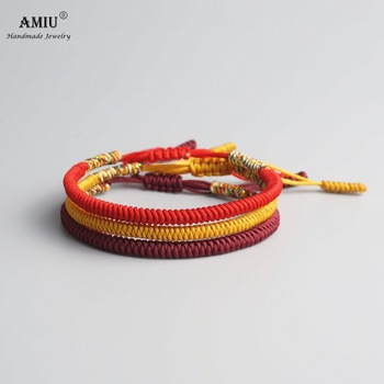 AMIU Multi Color Tibetan Buddhist Good Lucky Charm Tibetan Bracelets & Bangles 3
