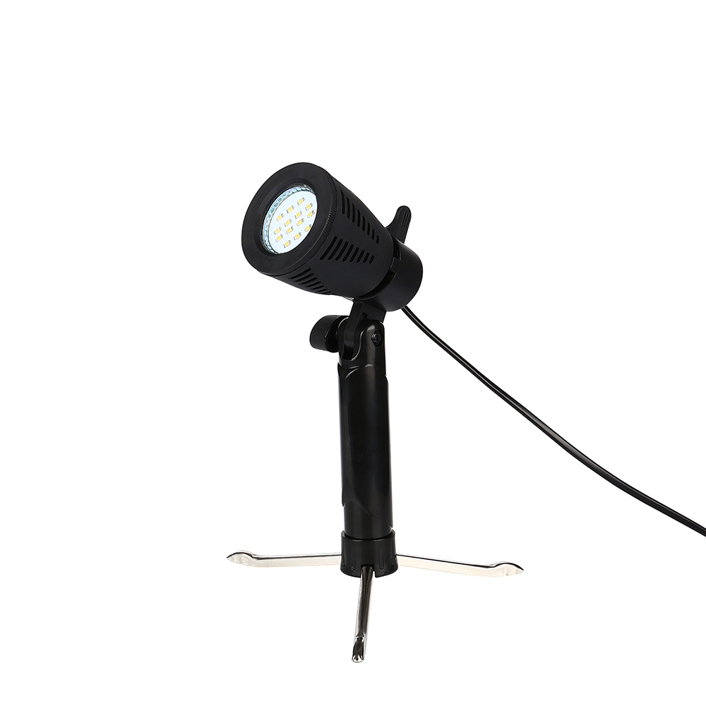 CY 1PCS 50W 5100K Photography Photo Studio Light Lamp Camera Softbox With Tripod Stand Bulb For Light Tent For A Perfect Shot