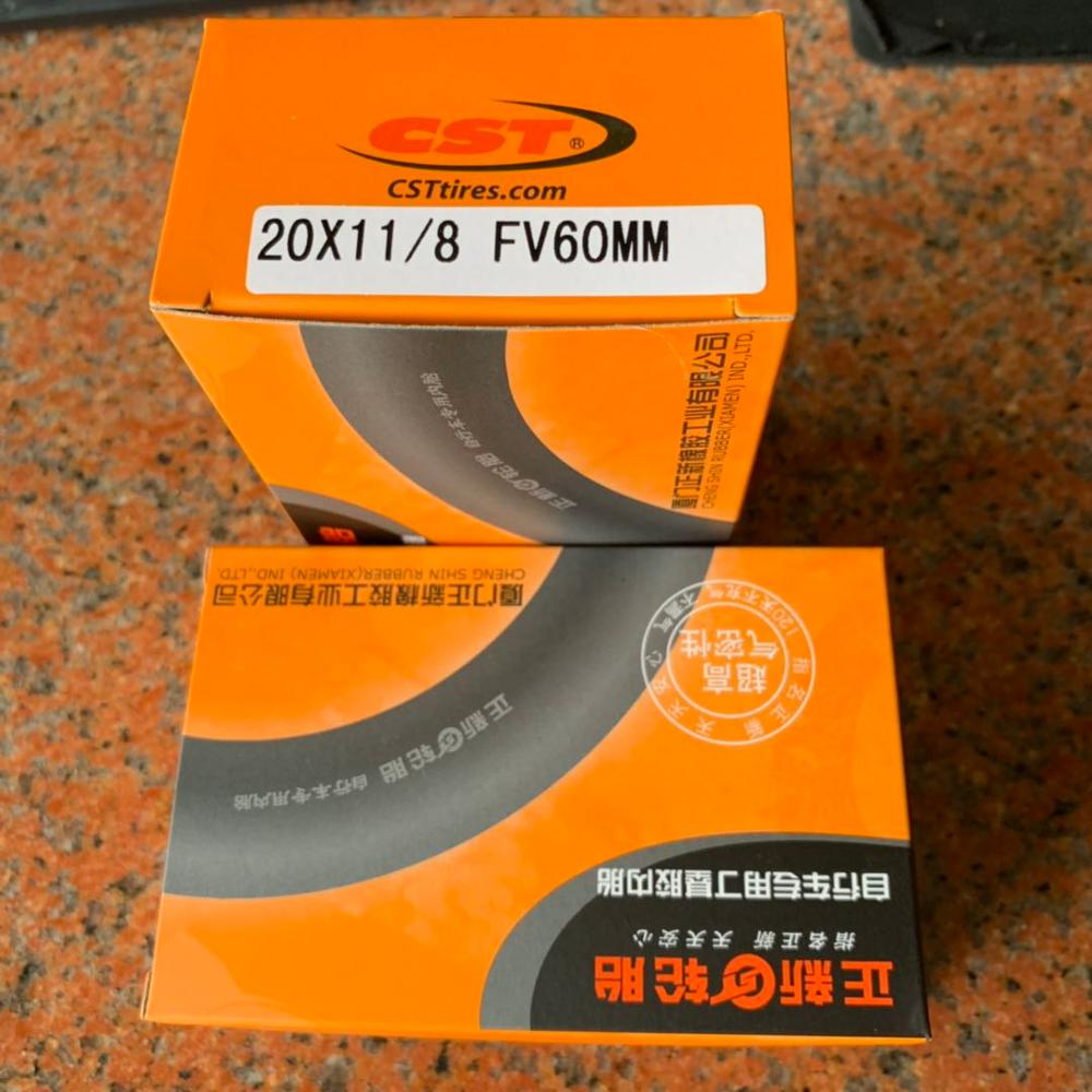 "2pc CST Bike Tubes 16/"" 1 3//8/""  37 349  For Brompton Folding Bike Presta Schrader"