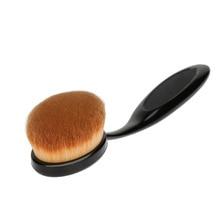 Big Size 15cm Oval Makeup Brush Professional Foundation Cream Loose Powder Brush Toothbrush Shape Oval Brush Cosmetic Tools