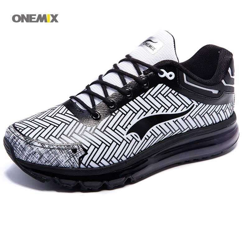 ONEMIX New Arrival Running Shoes 2017 Design Breathable Sport Sneakers air cushion trekking walking Athletic Men's Women's 1192 2017brand sport mesh men running shoes athletic sneakers air breath increased within zapatillas deportivas trainers couple shoes
