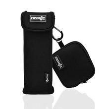 bose 404600. black color soft neoprene sleeve carrying travel case for bose soundlink mini bluetooth speaker and power adaptor 404600