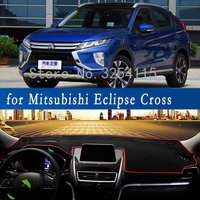 Custom Sun Shade Dashmats Car styling Accessories Dashboard Cover Mats Carpet for Mitsubishi Eclipse Cross 2017 2018 2019