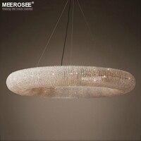 Дизайн лампы, подвесные светильники Хрустальные подвесные светильники Современные Luminaria подвесной светильник для столовой Гостиная кафе с