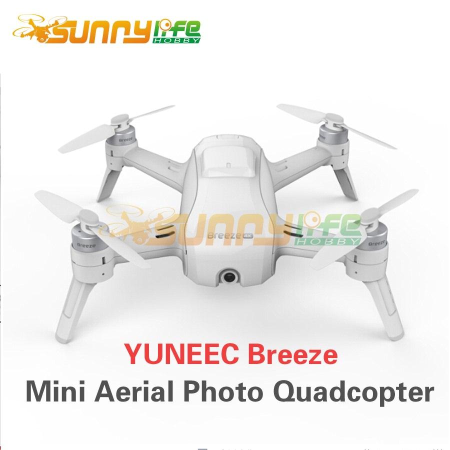 Yuneec Breeze Intelligent Aerial Photo Quadcopter Smart 4K HD Remote Control Selfie Mini Multicopter