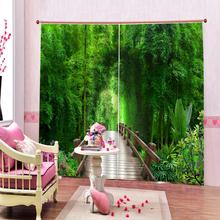 Curtains Drapes Forest-Windows Bedroom Living-Room Custom Adults Kids Beautiful Scenery