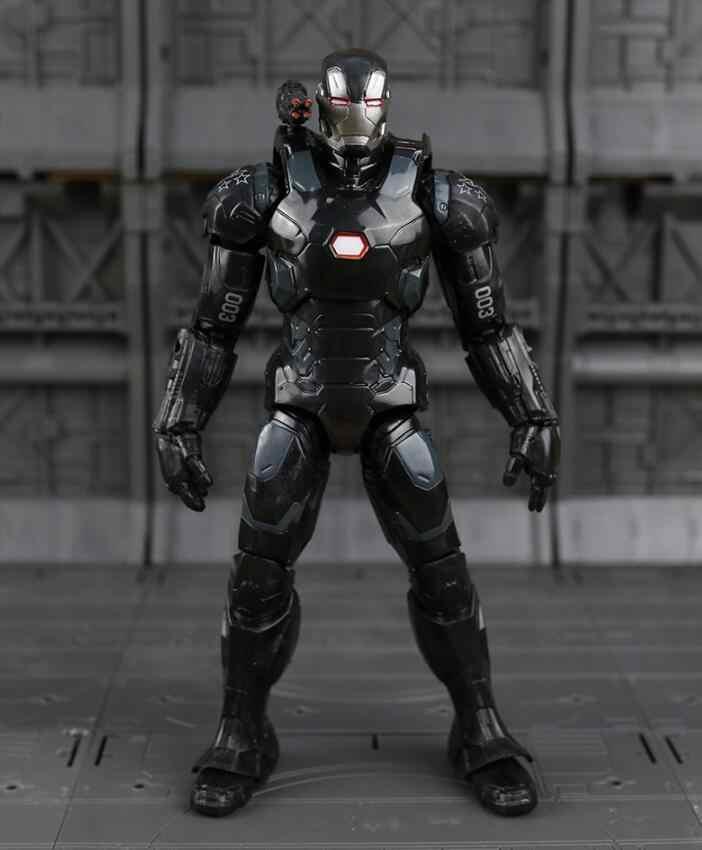 """Подлинная disney Marvel 7 """"легенды Civil War Железный человек Капитан Америка Черная пантера видение Сокол Фигурка «Железный человек» из ПВХ фигурка игрушки"""