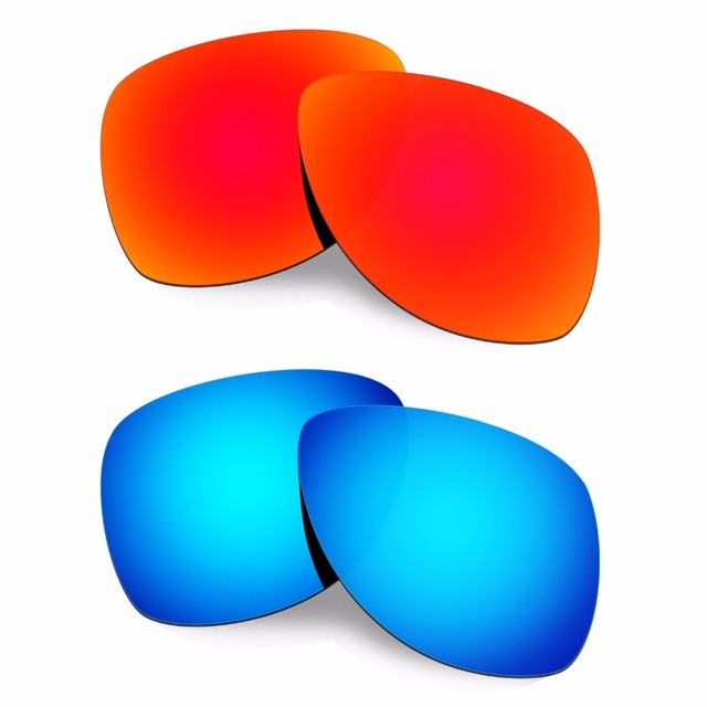 HKUCO Mens Replacement Lenses For GRcEOtlCZM Trillbe X Sunglasses Red/Blue Polarized idLU2HMjfc