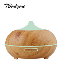 TBonlyone 300ML Ultrasonic Humidifier Air Humidifier Aromatherapy Mist Maker Aroma Essential Oil Diffuser For Home Office