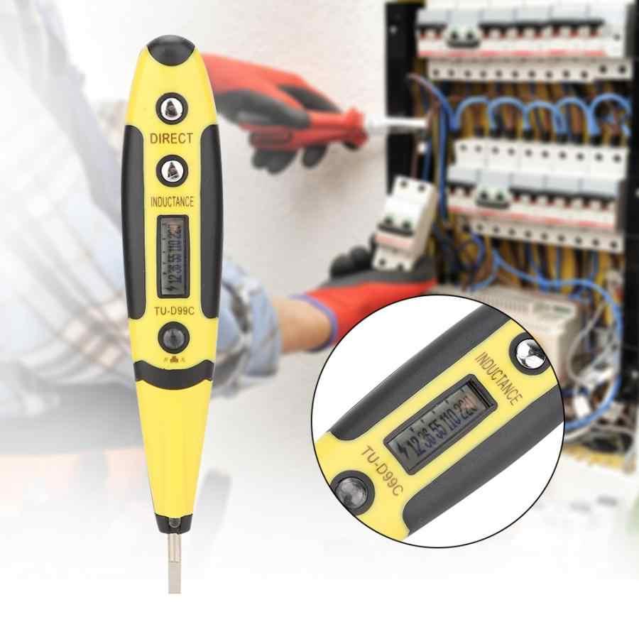 TU-D99C цифровой дисплей электрический индикатор напряжения проверка напряжения карандаш с индикатором