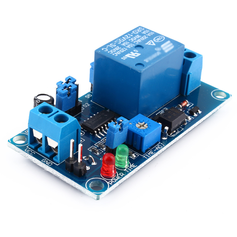 Dc 12v Delay Relay Switch Module Timer Relay Normally Open