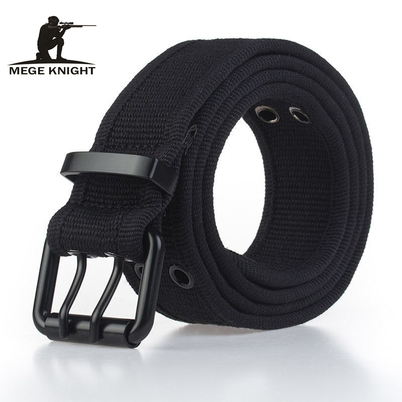 MEGE Waist Tactical Adjustable Outdoor Belt Military Nylon Belt Men Army Canvas Belt Automatic Buckle Cummerbunds Para Hombre