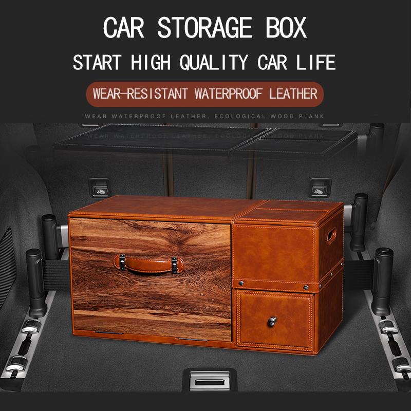 font b Car b font Trunk font b storage b font box for Jaguar f