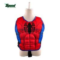 New kids cuộc sống jacket vest Superman batman spiderman bơi chàng trai cô gái câu cá siêu anh hùng hồ mối hồ bơi phụ kiện vòng