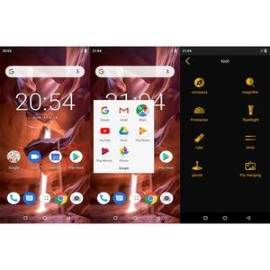 "Image 4 - מכירה Z33 IP68 עמיד למים טלפון 4600 mAh 3 GB 32 GB 5.85 ""Smartphone אנדרואיד 8.1 MTK6739 פנים מזהה 4G FDD LTE ZOJI HOMTOM MobilePhone"