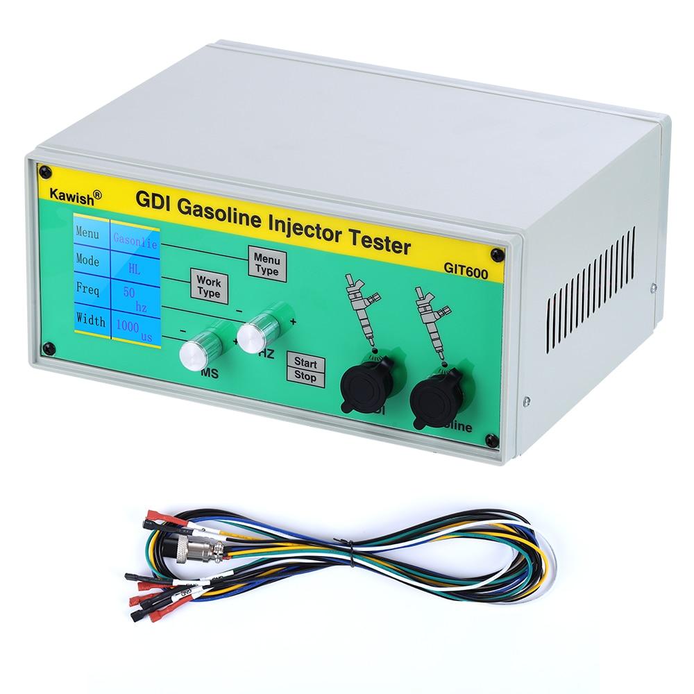 Image 3 - Latest GIT600+S60H GDI/FSI gasoline injector tester petrol injector tester car injector testerMechanical Testers   -