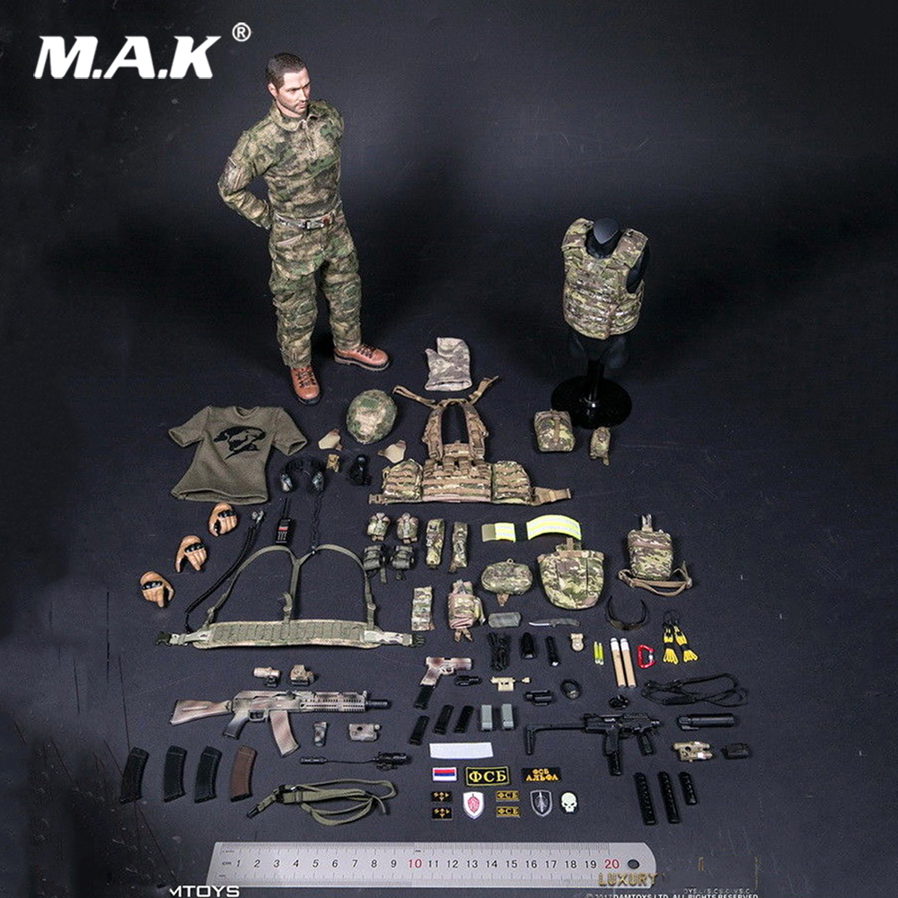 For Collection Solider Action Figure full set 1/6 78047A RUSSIAN SPETSNAZ FSB ALPHA GROUP Male Figure Luxury Ver. full set 1 6 german wwii solider armored division uniform panzer division rainer action figure wounded wersion for collection