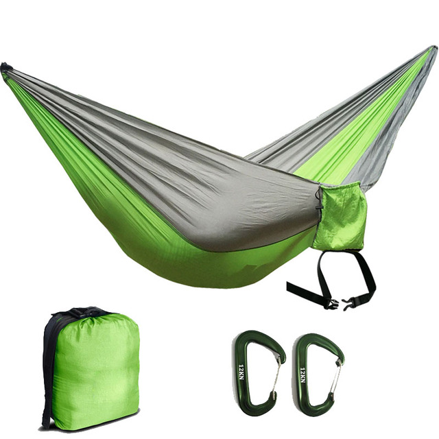 210t nylon parachute 2 person hammock with hammock ropes and light weight aluminum carabiners for outdoor 210t nylon parachute 2 person hammock with hammock ropes and light      rh   aliexpress