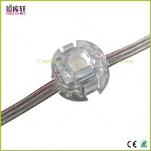 500 шт. DC5V ws2811IC 20 мм диаметр светодиодный цифровой пиксельный экран сетки модули SMD 5050 RGB Водонепроницаемый адресуемый Светодиодный точечный светильник
