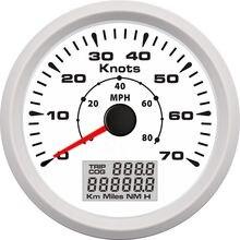 85 мм Универсальный gps Спидометр Одометр 0 70 узлов 80 миль/ч