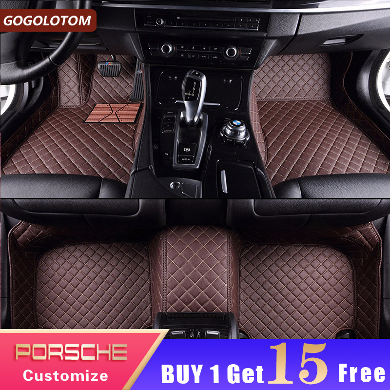 Car Floor Mats for Porsche Cayenne 955 957 958 Macan Cayman Boxer 987 981 718 Panamera 911 991 Carrera Targa Car Luxury CarpetCar Floor Mats for Porsche Cayenne 955 957 958 Macan Cayman Boxer 987 981 718 Panamera 911 991 Carrera Targa Car Luxury Carpet