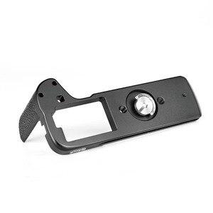 Image 5 - Meike Placa de liberación rápida con empuñadura manual de aleación de aluminio MK XT3G, soporte en L para Fujifilm X T3