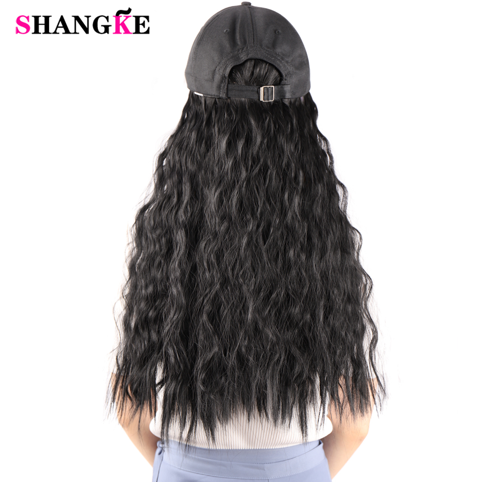 calor sintético natural falso cabelo para mulher