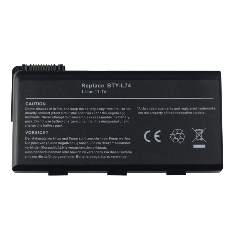 Laptop Battery For <font><b>Msi</b></font> CX620 <font><b>CX620MX</b></font> CX620X CX623 CX623X CX630 CX700 CX700X CX705 CX705X CX720 GE700 CR700 CR620 A7200 image
