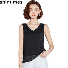 Shintimes Sexy Black Tank Tops Lace Loose Breathable Sexy Top Korean Fashion Plus Size Camisole 2019 Summer Womens Clothing living dead souls womens juniors sexy lace camisole pink black