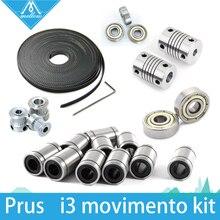 Frete grátis! movimento kit impressora 3d reprap i3 GT2 polia 608zz lm8uu rolamento 624zz rolamento