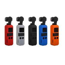 Cho DJI OSMO Bỏ Túi Gimbal Camera Silicone Mềm Ốp Nhà Ở Vỏ chống Trượt Gimbal Phụ Kiện Kẹo màu sắc