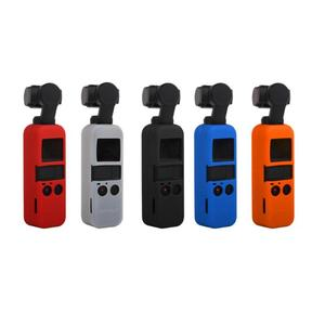 Image 1 - For DJI OSMO Pocket Handheld Gimbal Camera Soft Silicone Case Cover Skin Housing Shell Skid proof Gimbal Accessories Candy Color