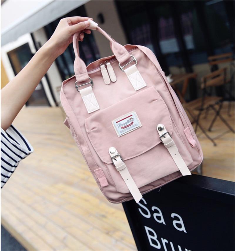 все цены на Brand teenage backpacks for girl Waterproof Backpack Travel Bag Women Large Capacity School Bags For Girls Mochila онлайн