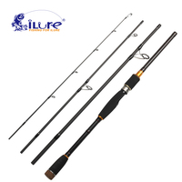iLure Carbon Fishing Rod 2.1m/2.4m/2.7m/3m Hand Fishing Tackle Lure Rod Lure Wt 10 25g Casting Rod Canne Spinning Lure Rod Pesca