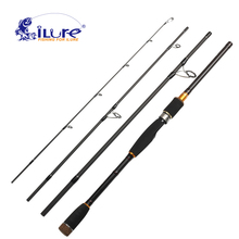 iLure Carbon Fishing Rod 2.1m/2.4m/2.7m/3m Hand Tackle Lure Wt 10-25g Casting Canne Spinning Pesca