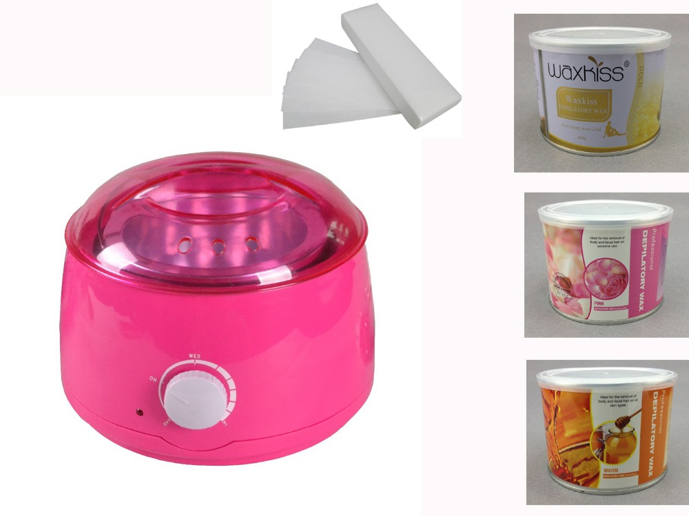 Wax Heater Hair Removal Machine 500ML 110V/220-240V 50/60Hz Epilator Painless Paraffin Wax Hand Care Foot Care Wax Warmer
