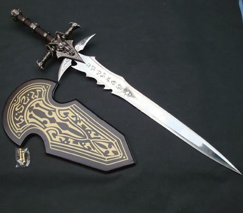 S1703 Game Anime Wow Frostmourne Arthas Menethil Sword 1 1
