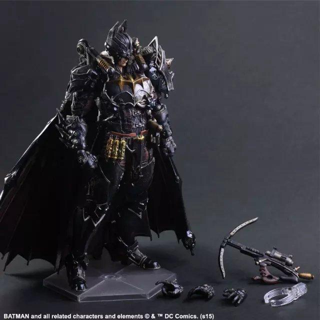 ФОТО Play Arts KAI Batman Timeless Steam Punk PVC Action Figure Collectible Models Toys 27cm  KT2434