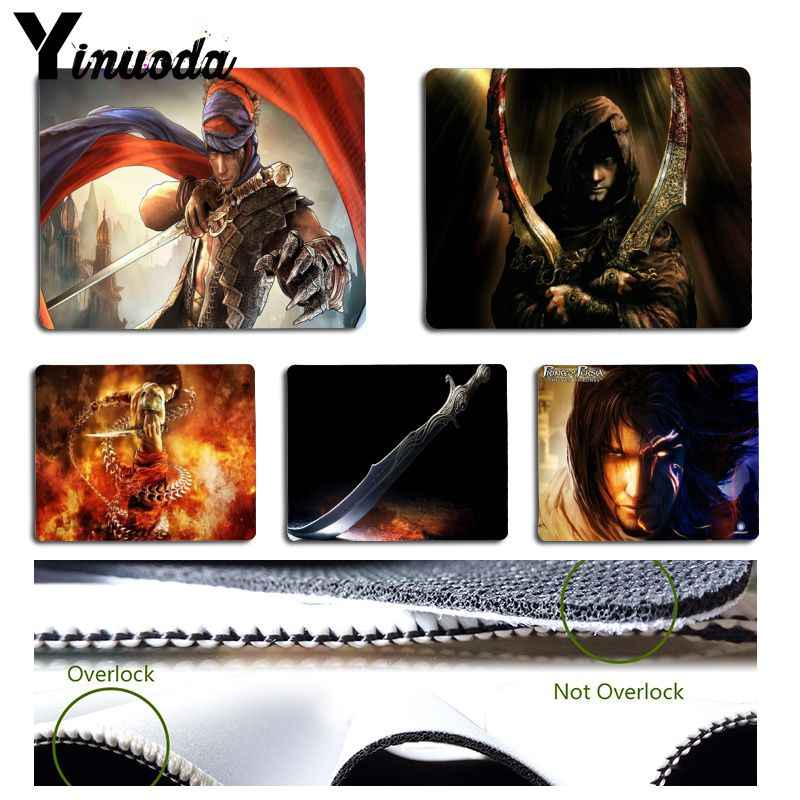 Yinuoda New Designs Prince Of Persia Unique Desktop Pad Game Mousepad Size for Size for 180x220x2mm and 250x290x2mm